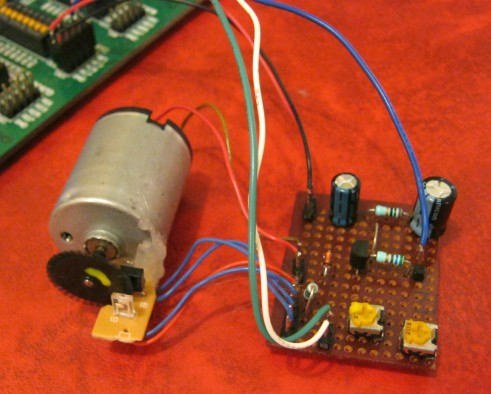 pic project dc motor like crystal clockwork the big benefit of a quadrature encoder in this app is that it cannot lose count of the motor position so even if the motor is bumped or jerked forward or